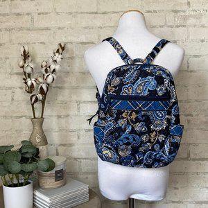 Vera Bradley   Retired Windsor Navy Small Backpack